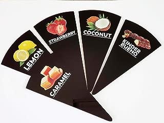 gelato flavor labels