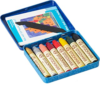 Art color 46100 color 8 cans Stockhausen Marr beeswax crayons stick (japan import)