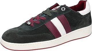 D'Acquasparta Sneaker Uomo Pelle Scamosciata Verde