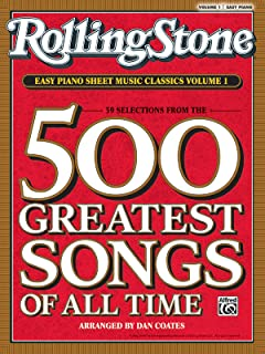 Rolling Stone Easy Piano Sheet Music Classics, Vol 1: 39 Sel