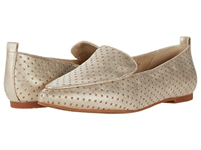 Seychelles BC Footwear by Seychelles Its Time Perf (Gold Distressed Perforated V Suede) Women