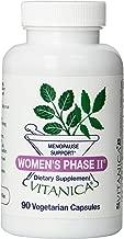 Vitanica, Women's Phase II Vegetarian Capsules, 90-Count
