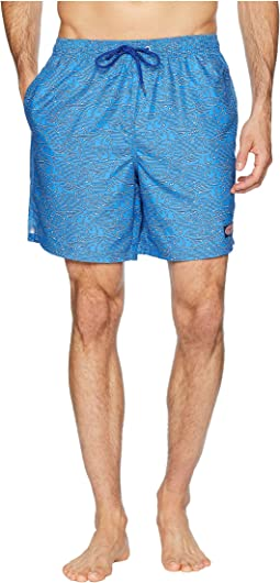 Tuna Print Chappy Swim Trunks