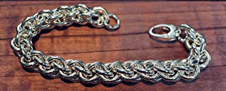 Handmade Sterling Silver Jens Pind Chainmaille Bracelet - 8.5 inches