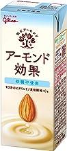 グリコ アーモンド効果 砂糖不使用 アーモンドミルク 200ml×24本 常温保存可能