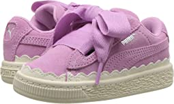 Suede Heart Rubberized (Toddler)