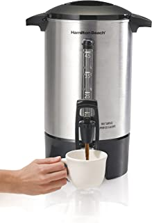 Hamilton Beach 40519 Coffee Urn, 45 Cups, Silver