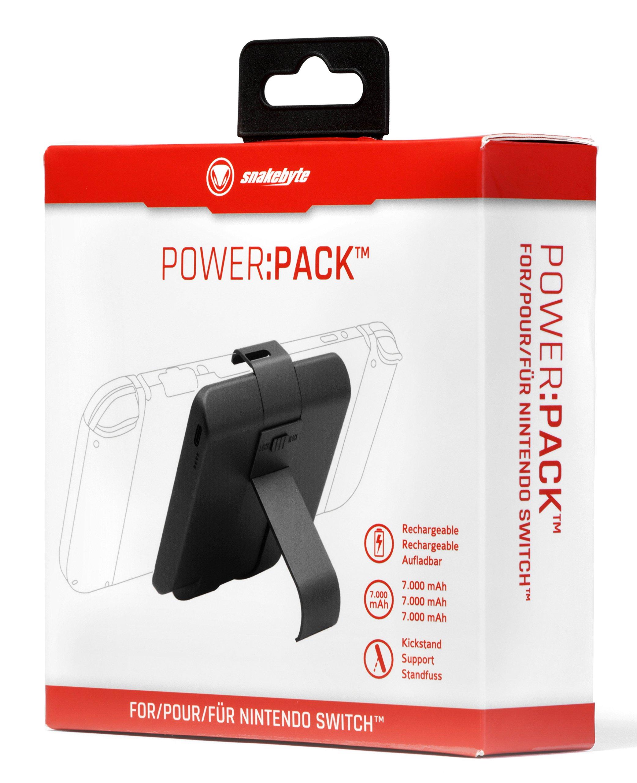 SnakeByte - Power Pack (Nintendo Switch): Amazon.es: Videojuegos
