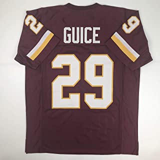Unsigned Derrius Guice Washington Burgundy Custom Stitched Football Jersey Size XL New No Brands/Logos