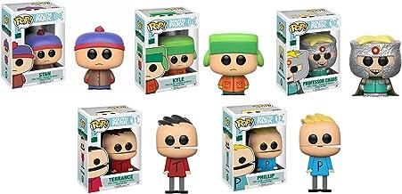 Funko PoP! South Park Wave 2 Set of 5 (Stan, Professor Chaos, Phillip, Terrance, Kyle)