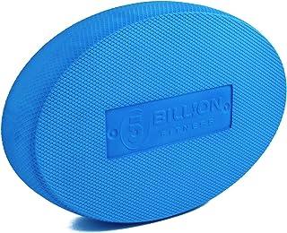 5BILLION Balance Pad - Oval - Almohadilla de Ejercicio & Entrenador de Equilibrio de Espuma - Wobble Cushion para Fisioterapia, Rehabilitación, Dancing Balance Training