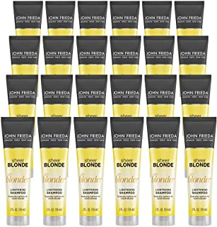 John Frieda Sheer Blonde Go Blonder Lightening Shampoo, 2 Ounce (Pack of 24)