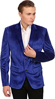 blue velvet suit mens