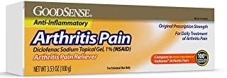 Good Sense Arthritis Pain Relieving Gel, Diclofenac Sodium Topical Gel, 1% (NSAID), 3.53 Ounce