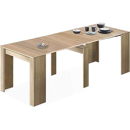 Loungitude - Table à manger extensible L51/237 cm - Chêne clair