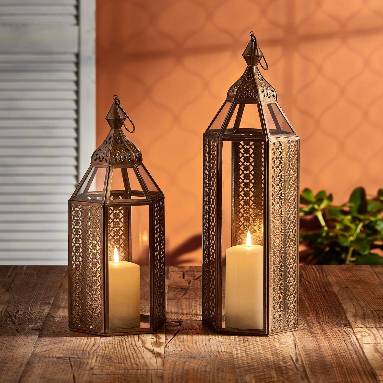 Lanterna Artigianale in Stile Marocchino per Uso in Interni Lights4fun