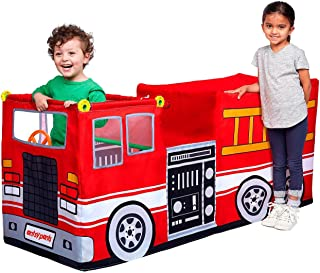 Antsy Pants Vehicle Kit Fire Truck Build and Play Educational Stem Learning Toy Set for Boys and Girls