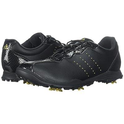 adidas Golf Adipure DC (Core Black/Gold Metallic/Core Black) Women