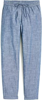 J. Crew Women's Relaxed-Fit Drawstring Pants, Multiple Sizes and Colors