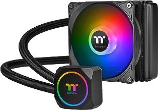 Thermaltake TH120 ARGB Motherboard Sync Edition Intel/AMD All-in-One Liquid Cooling System 120mm High Efficiency Radiator ...