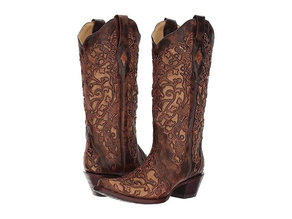 Corral Boots A3319 (Brown) Cowboy Boots