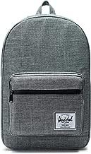 Herschel Pop Quiz Backpack-Raven Crosshatch/Black Rubber