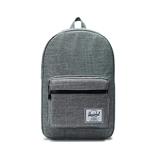 huge discount 186b0 d60fa Herschel Pop Quiz Backpack-Raven Crosshatch Black Rubber