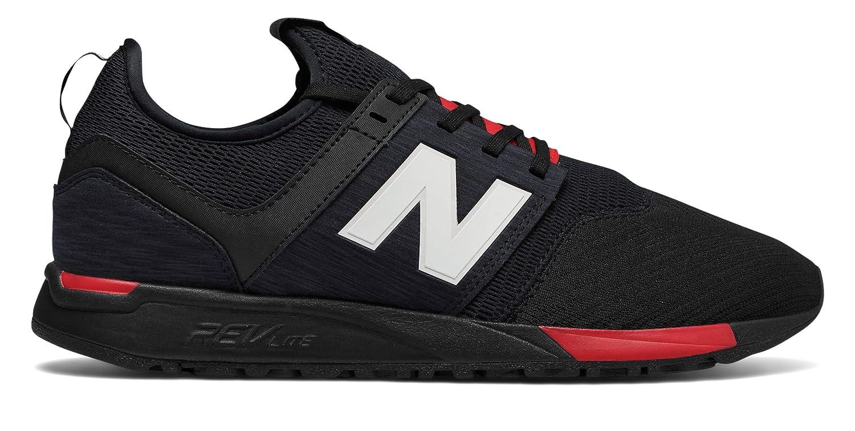 (ニューバランス) New Balance 靴?シューズ メンズライフスタイル 247 Classic Black with Red ブラック レッド US 9 (27cm)
