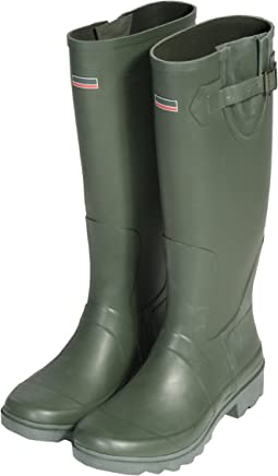 Town & Country Size 8/ EU 42 Premium Wellington Boots - Green