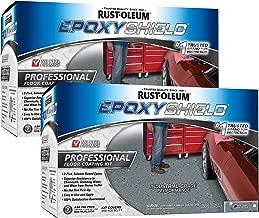 Rust-Oleum 238467 Professional Floor Coating Kit, Dark Gray - 2 Pack
