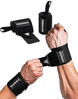 GORNATION® Power Wrist Wraps voor maximale stabiliteit & betere prestaties - Perfect voor krachttraining, bodybuilding, cr...