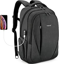 Tigernu Laptop Backpack with USB Charging Port for Men Women 15.6 inch MacBook