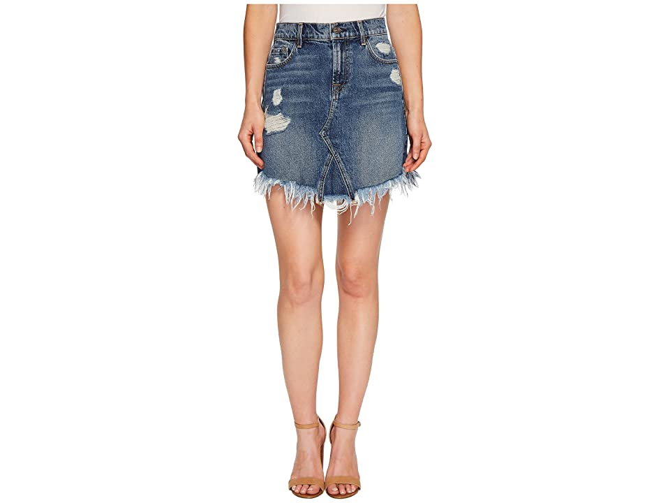 7 For All Mankind Skirt w/ Scallopped Hem in Montreal (Montreal) Women