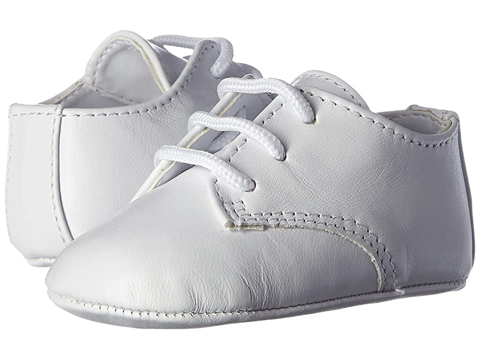 Baby Deer Eric (Infant/Toddler) (White Leather) Boys Shoes
