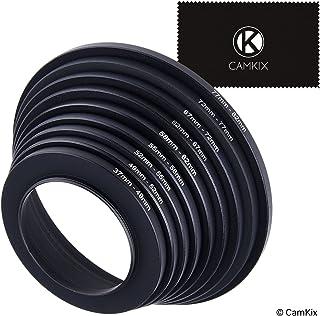 Adaptador de Lentes de Anillo - Le Permite Ajustar filtros de Mayor tamaño en un Objetivo con un diámetro más pequeño - Tamaños: 37-49 49-52 52-55 55-58 58-62 62-67 67-72 72-77 77-82 mm