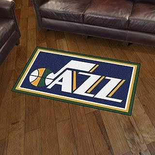 NBA Utah Jazz 3 Ft. x 5 Ft. Area RUG3 Ft. x 5 Ft. Area Rug, Navy, 3' x 5'