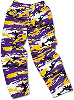 Men's Officially Licensed NFL Camo Print Team Logo Casual Active Pants