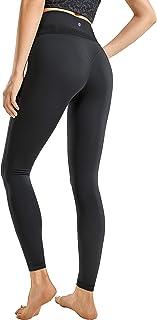CRZ YOGA Leggings de ioga macias para mulheres nuas de 25 polegadas - calças reflexivas de cintura alta