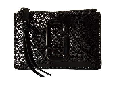 Marc Jacobs Snapshot DTM Top Zip Multi Wallet (Black) Wallet Handbags