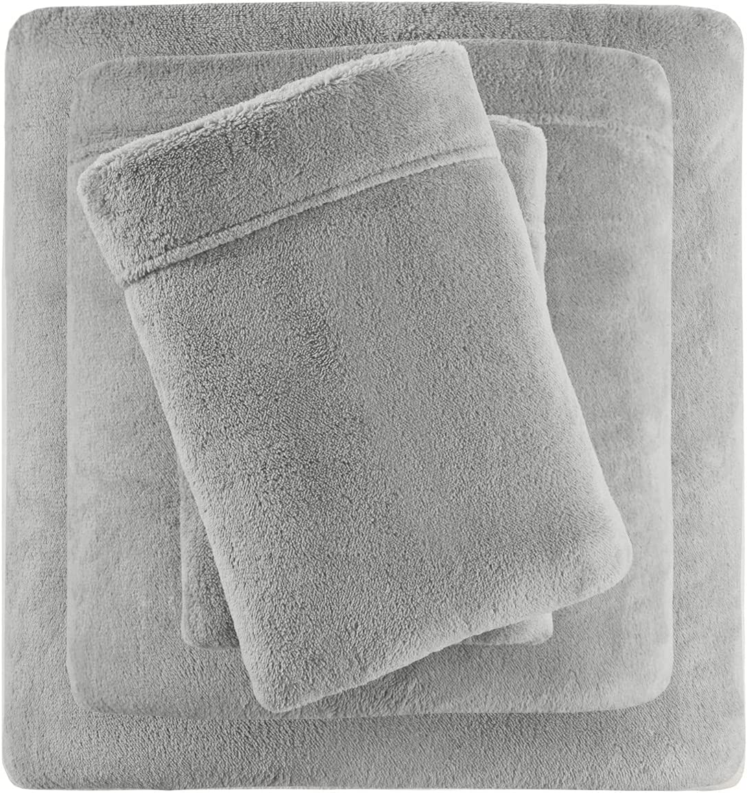 True North by Sleep Philosophy BL20-0869 Soloft Plush, Wrinkle Resistant, Warm, Soft Fleece Sheets with 14