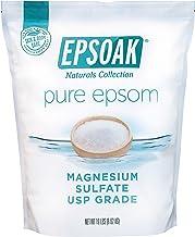 Epsoak Epsom Salt 19 lb. Bulk Bag Magnesium Sulfate USP (Packaging May Vary)