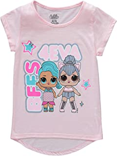 Girls BFFs 4 Eva Short Sleeve Tee T Shirt Pink 4/5(XS)