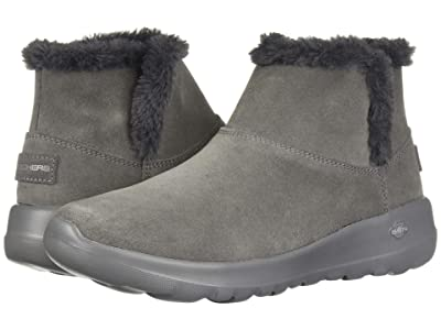 SKECHERS Performance On-The-Go Joy Bundle Up (Charcoal) Women