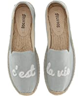 C'Est La Vie Smoking Slipper