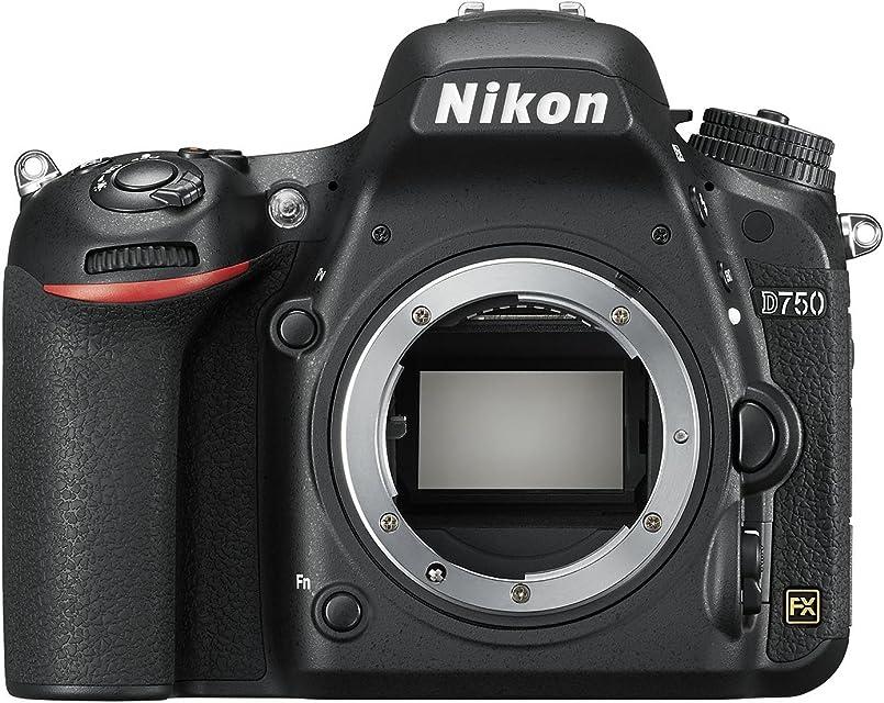 Nikon D750 - Cámara réflex digital de 24.3 Mp (pantalla 3.2 vídeo Full HD) color negro - Solo cuerpo - [Versión Nikonistas]