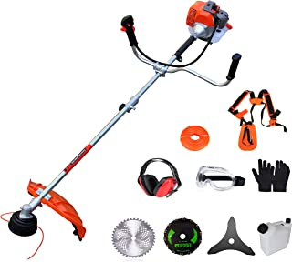 PROYAMA Extreme Duty 2-Cycle Dual Line Trimmer and Brush Cutter, 42.7cc