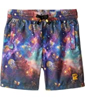 Rock Your Baby - Intergalactic Boardshorts (Toddler/Little Kids/Big Kids)