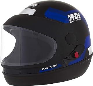 Pro Tork Capacete Sport Moto 788 60 Preto/Azul