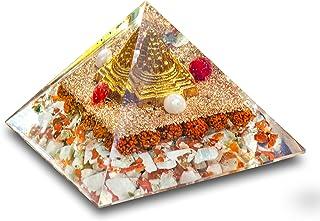 PREK Shree Shri Yantra Devik Pyramid for Wealth and Prosperity, Healing Removing Negativity Positive Energy Vaastu and Fen...