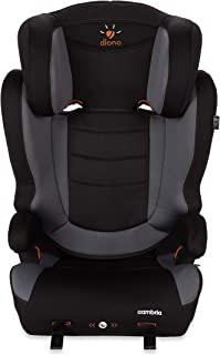 Diono Cambria Booster – 2-in-1 Car Seat – High Back and Backless Booster - Forward-Facing 40-120 Pounds - Overprotective in All the Right Ways, Graphite